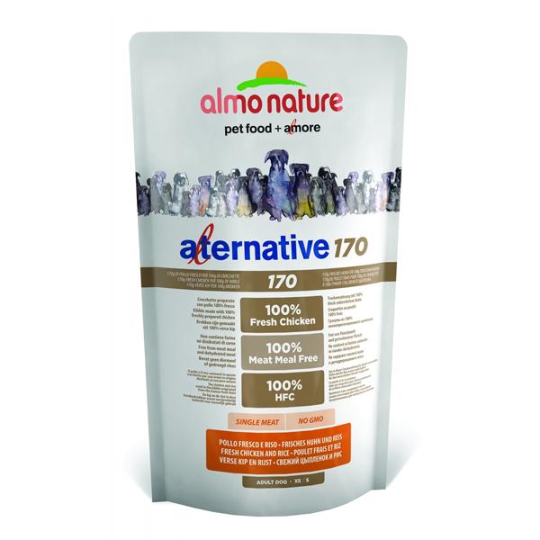 Корм сухой Almo nature Alternative(75% мяса) для собак средних и крупных пород с цыпленком и рисом 9.5кг