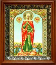 Валерия Кесарийская (19х22), светлый киот