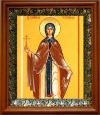 Василиса Египетская (19х22), светлый киот