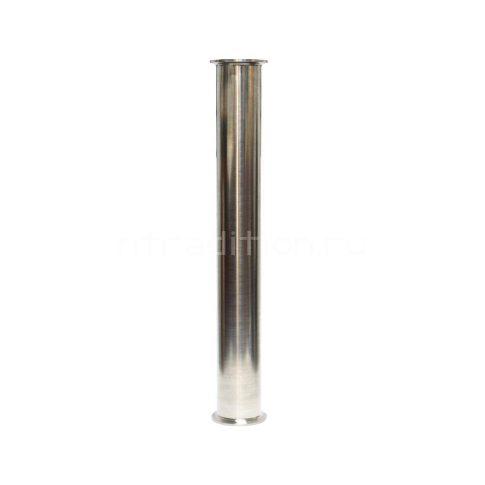 Царга-труба под кламп 1,5 дюйма (DN38), длина 600 мм