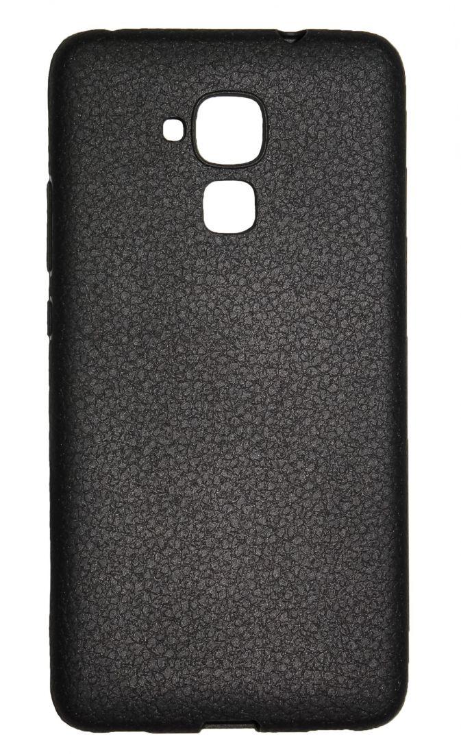 """Чехол-накладка силиконовый """"под кожу"""" для Huawei Honor 5C"""