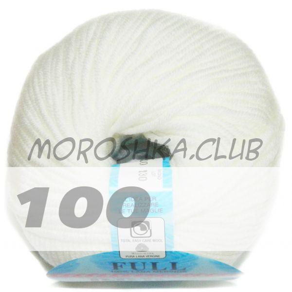 Белый Full (цвет 100)