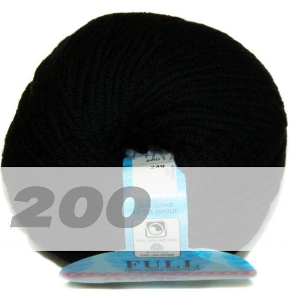Чёрный Full (цвет 200)
