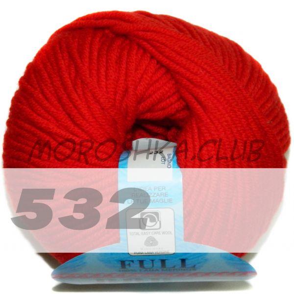 Красный Full (цвет 532)