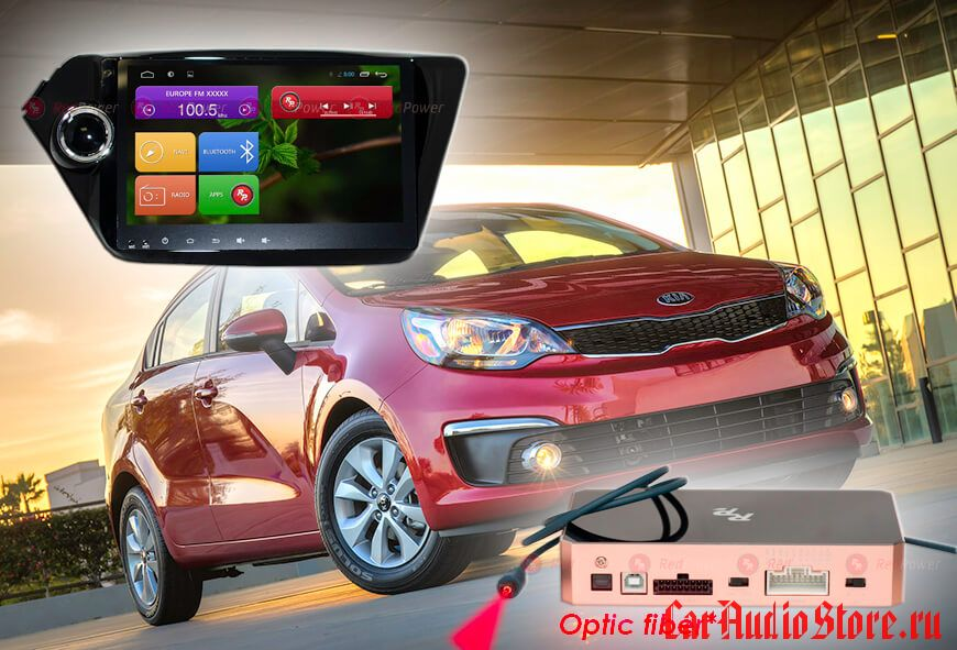 Redpower 31106 IPS для KIA Rio