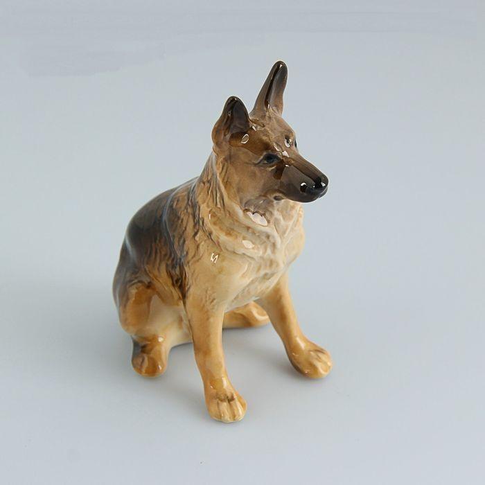 Немецкая овчарка статуэтка