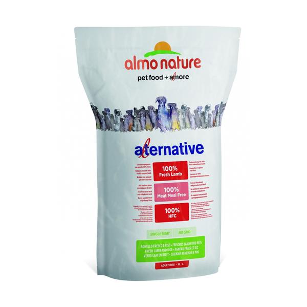 Корм сухой Almo nature Alternative для собак карликовых и мелких пород с ягненком и рисом 750гр