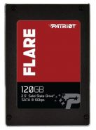 SSD диск Patriot Flare 120Gb PFL120GS25SSDR MLC
