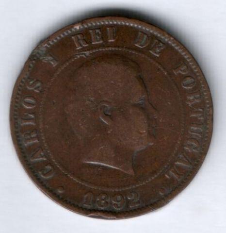 20 рейс 1892 г. Португалия