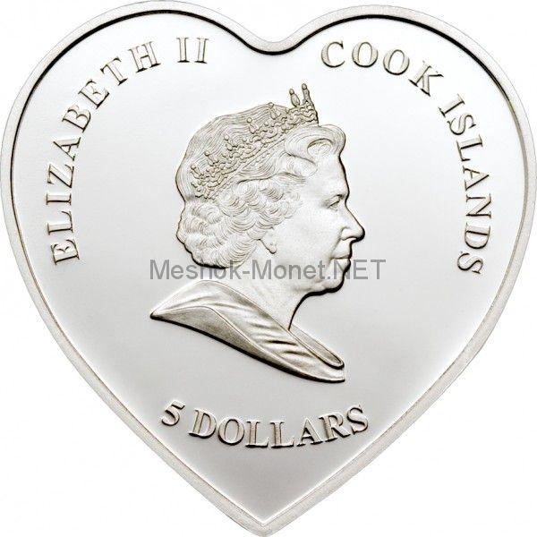 5 долларов 2008 года, острова Кука, ВЕЧНАЯ ЛЮБОВЬ