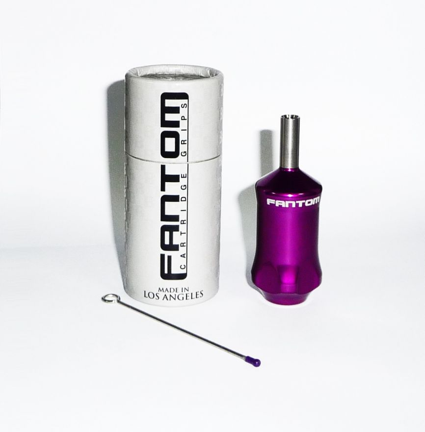 Fantom Aluminum Tube Cartridge Grip - Beatnik Purple