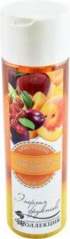 """Гель для душа натуральный """"Энергия фруктов"""" с кристаллами розовой соли. 330 гр"""