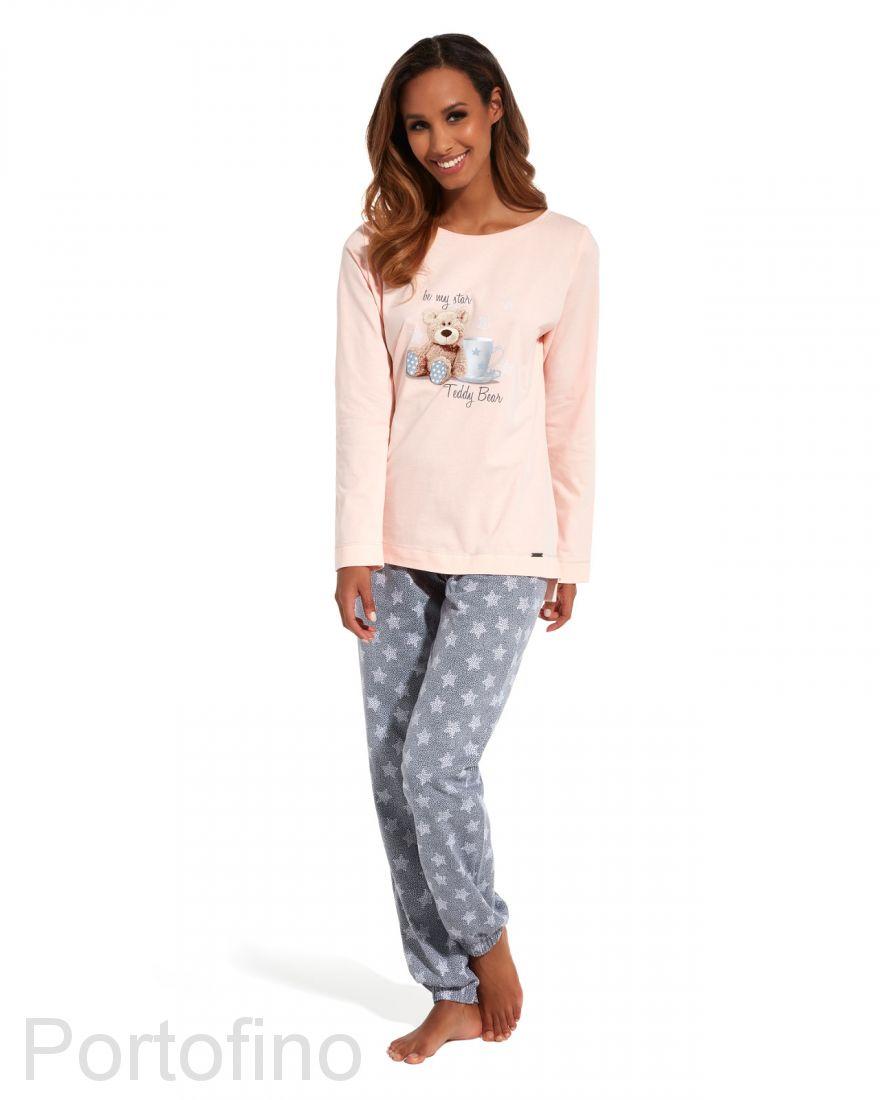 627-125 Пижама женская с длинным рукавом Cornette