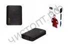 Моб. заряд. устрой. портат. аккум. RITMIX RPB-10404LS, черный, 10400 мАч, литий-ионный . заряд ~ 6 ч. Индикатор заряда, встроенный фонарик. Вход: 1 x Micro-USB. Выход: 4 х USB.