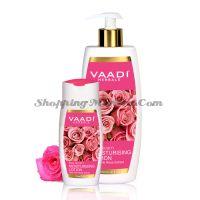 Увлажняющий лосьон для лица и тела с экстрактом розы Ваади | Vaadi Moisturising Lotion with Pink Rose