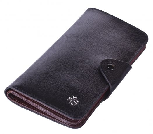 Бумажник кожаный NarVin 9650-N.Vegetta Black