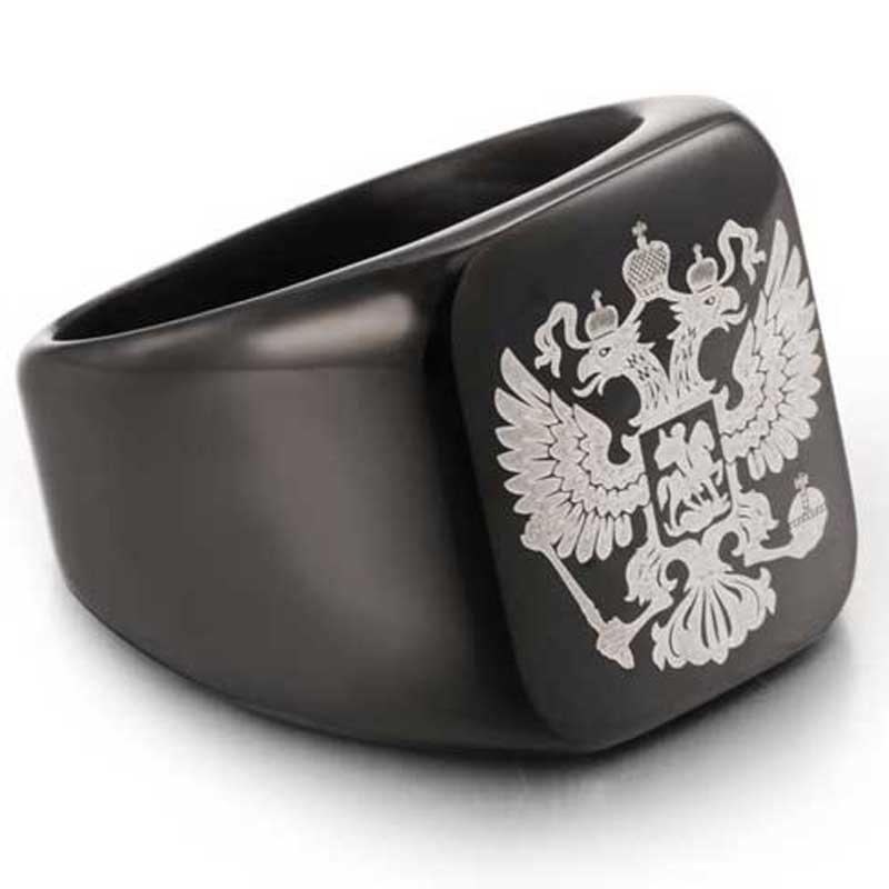 Перстень с гербом России