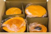 Мини блендер Hanil Flowerpot HMF-630 (черно-оранжевый) www.sklad78.ru