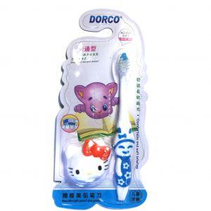 Детская зубная щетка с держателем Dorco