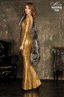 Пелерина из серебристо-черной лисы с шелковой подкладкой картинки