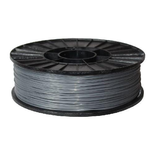 АБС+ пластик СТРИМПЛАСТ 1,75 мм, серебристо-серый, 0.8 кг