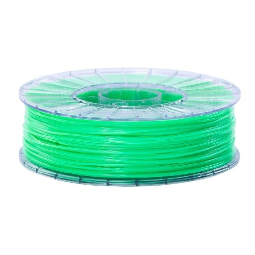 PLA ECO Пластик СТРИМПЛАСТ; 1,75 мм;  зеленый люминесцентный, 1,0 кг