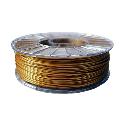 PLA ECO Пластик СТРИМПЛАСТ; 1,75 мм;  золотой, 1,0 кг