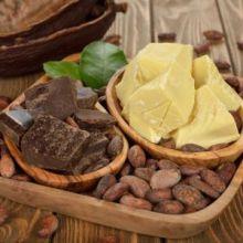 Масло какао, нерафинированное 100гр, Италия