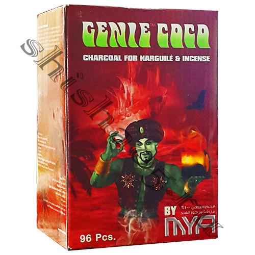 Уголь/ GenieCoco-FLAT, 96шт