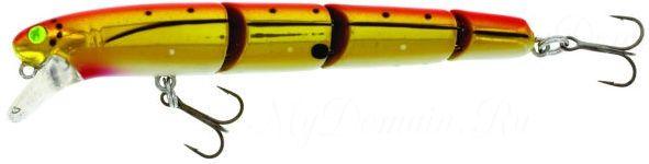 Свимбейт Westin Jatte Multi Jointed, 115 мм, 14 гр, плавающий, #Chopper GFR