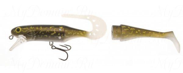 Воблер составной Westin Jatte Teez Tail, 140 мм, 29 гр, плавающий, #Natural Pike