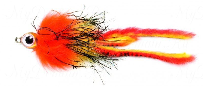 Приманка Westin Monster Fly, 210 мм, 25 гр, медленно тонущая, #Concealded Fish