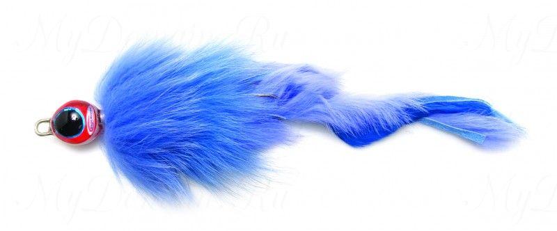 Приманка Westin Monster Fly, 210 мм, 25 гр, медленно тонущая, #Invisible Blue
