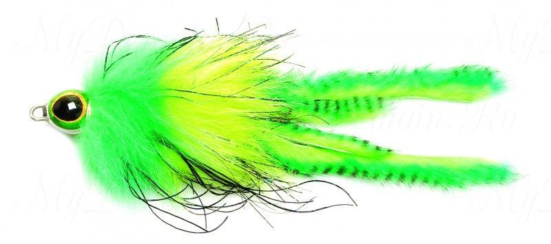 Приманка Westin Monster Fly, 210 мм, 25 гр, медленно тонущая, #Natural Perch
