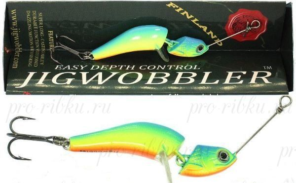 Джигвоблер Wake Jigwobbler 50, 5 см, 8 гр, #Parrot