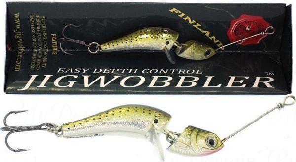 Джигвоблер Wake Jigwobbler 50, 5 см, 8 гр, #Yellow Jaguar
