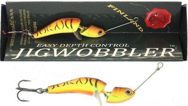 Джигвоблер Wake Jigwobbler 80, 8 см, 29 гр. #Fire Tiger