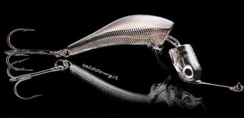Джигвоблер Wake Jigwobbler 93гр. 15см, быстротонущий, Black Silver