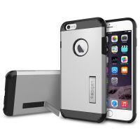 Чехол Spigen Tough Armor для iPhone 6S Plus серебристый