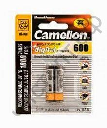 Аккум.Camelion R03 (600mAh)  2BL (24)