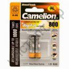 Аккум.Camelion R03 (800mAh)  2BL (24)