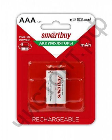 Аккум.Smartbuy R03 AAA 600 mAh 2BL  (24)
