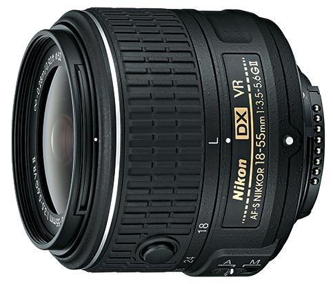 Nikon 18-55mm f/3.5-5.6G ED AF-S  vr ii DX Nikkor