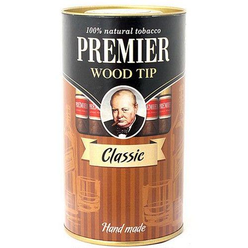 Сигариллы Premier Classic с мундштуком туба 25 шт.