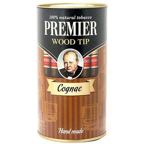 Сигариллы Premier Cognac с мундштуком туба 25 шт.