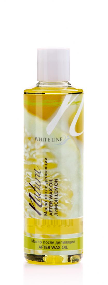 Масло после депиляции White line Natura 250мл Арт.11 Лимон