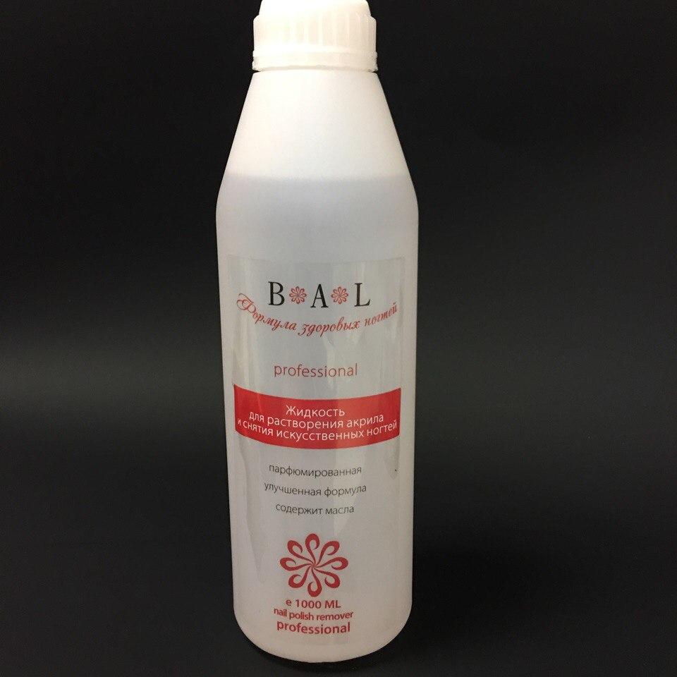 BAL жидкость для растоврения акрила и снятия искусственных ногтей 1000мл
