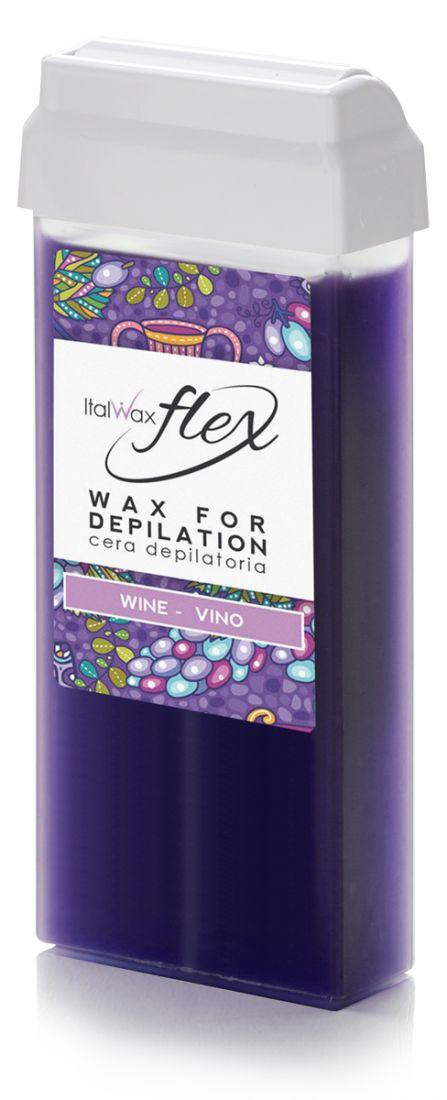 Воск White line Flex в картридже 100мл  Арт.11 Вино