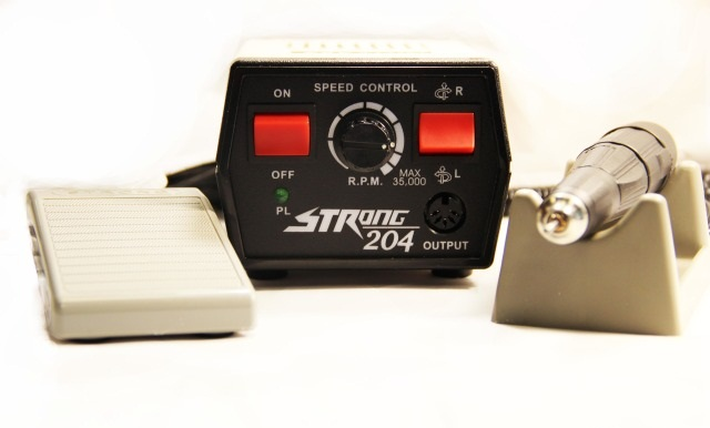 Аппарат для педикюра и маникюра STRONG 204 (С педалью)  до 35000т.