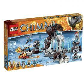 Lego Legends of Chima 70226 Ледяная крепость мамонтов (мятая упаковка)